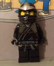 Ninjago Lego mini figure BLACK NINJA / COLE ZX 30087 njo054