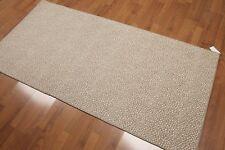 "3'2' x 6'5"" 100% wool area rug runner Beige"