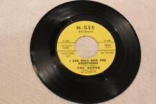GARAGE PUNK THE HEROS I Can Only Give You Everything M-GEE 001 DJ MINT-