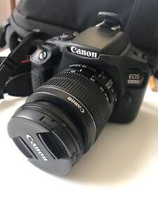 Canon EOS 1300D + 18-55mm + accessori