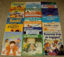 Lot - 20 French Robert Munsch Books Scholastic Softcover Teachers Class Set VGC