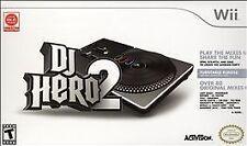 DJ Hero 2 (Turntable Bundle Edition)  (Wii, 2010)