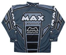 Wulfsport Max Equipe Gris Camisa Tamaño Pequeño De Carrera Motocross Moto Mx Ocio