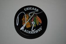 Duncan Keith Autographed Chicago Blackhawks Logo Puck