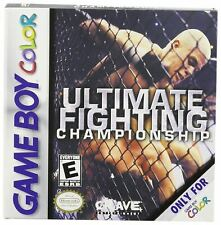 ULTIMATE FIGHTING CHAMPIONSHIP GBA GAME (GAMEBOY ADVANCE)