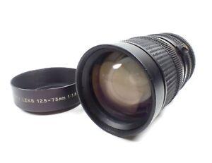 D.O. Industries TV Zoom Lens 12.5-75mm F1.8 w/Hood