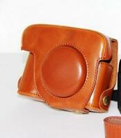 PU Leather Bag Case Pouch for Canon Powershot  G12 G11 G10 Camera