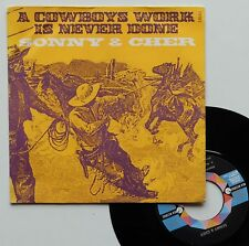 """SP Sonny & Cher  """"A cowboys work is never done"""""""