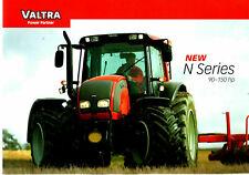 Valtra  New N Series Tractors Brochure 90-150hp Classic HiTech Advance 8698E