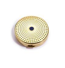 "Estee Lauder Solid Perfume Powder Compact ""Golden Sundial"" Mint"