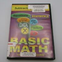 Basic Math: The Complete Course - Lesson 6: Subtracting Fractions (DVD, 2005)