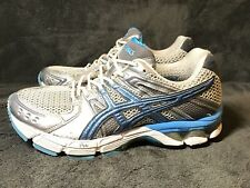 Women's Asics Gel-3030 White Sky Blue Titan Running Shoes T196N sz 9.5