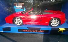 UT models ~ Ferrari ~ F355 Spider~1:18 Scale ~ Red