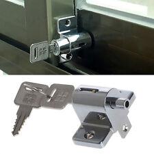 Zinc Sliding Window Patio Screw Door Locking Pin Push Child Safety Lock New