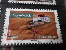 FRANCE 2013, timbre  AUTOADHESIF 808, RALLYE AICHA VOITURES oblitéré, VF STAMP