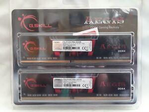 G.SKILL 32GB (4 x 8GB) Aegis 2133MHZ Desktop Memory Model F4-2133C15Q-32GIS