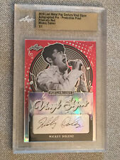 MICKEY DOLENZ 2019 Leaf Metal Pop Century Autograph Proof #1/1 THE MONKEES