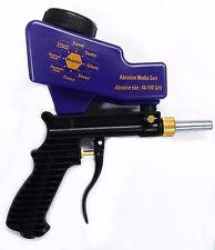 LEMATEC AS118 Gravity Feed Air Sandblasting Gun remove spot rust with free tip