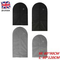 Clothes Garment Suit Dress Storage Bag Dust Cover Travel Coat Protector UK Stock