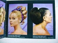 catalogue coiffure postiche perruques années 60 gérard Nuss