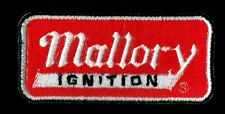Mallory Ignition Patch Badge Muscle Car Hot Rod Drag Race