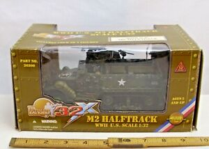 21st CENTURY TOYS M-2 HALF TRACK WWII MODEL 1/32 BOXED NEW 20260