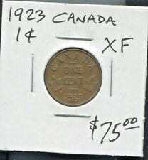 CANADA - FANTASTIC HISTORICAL GEORGE V BRONZE 1 CENT, 1923 (BEST DATE) KM# 28