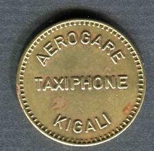 RARE! RWANDA RUANDA  Unusual TELEPHONE token KIGALI  10 Unit.  REAL!