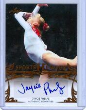 "JAYCIE PHELPS ""AUTOGRAPH CARD"" LEAF SPORTS HEROES 2013"