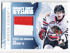 Sven Bartschi 2010-11 ITG Heroes Prospects Draft Day Stars Silver Jersey /19