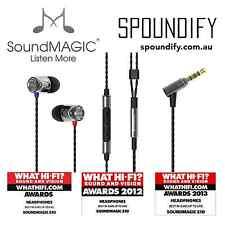 Grey SoundMAGIC E10C In Ear Isolating Earphones Mic & Volume - Update of SM E10S