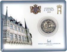 2 Euro Coincard Luxemburg 2019 Wahlrecht MZ Löwe / Lion