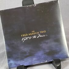 Fred Hersch Trio Night And The Music Promo CD Single Drew Gress 10 Tracks Sealed
