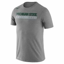 NWT-Nike Michigan State Spartans Basketball ELITE Dri-Fit T-Shirt -Men's Size XL