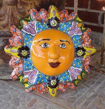 Talavera Ceramic Sun Home Decor Kitchen Patio Garden Pottery Decor Design
