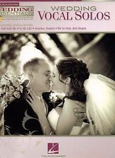 NEW Wedding Vocal Solos for High Voice Piano Score CD Demo & Performance Tracks