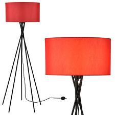[lux.pro] Lámpara de pie en rojo [Altura 155cm], lámpara de pie, lámpara