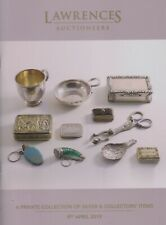 SILVER & COLLECTOR'S ITEMS: A PRIVATE COLLECTION AUCTION CATALOGUE