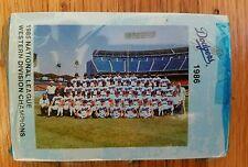 Los Angeles Dodgers Complete Sealed 1986 LAPD Mint