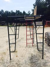 "A1 Scaffold Aluminum Plywood 28"" x 7' Walkboard With Hatch And Access Ladder"