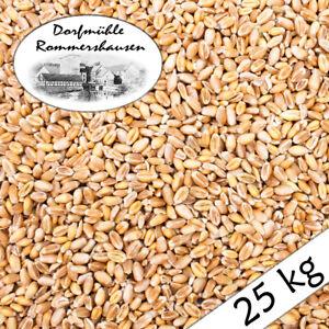(0,64€/1kg) 25 kg Weizen Gereinigt Hühnerfutter Geflügelfutter Futterweizen Voge