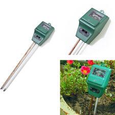 Digital Bodentester Garden Plant Tester Soil Moisture Light 3in 1 PH Test Meter