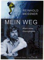 Reinhold Messner HAND SIGNED 4x6 Photograph! Mount Everest Mountaineer! Explorer