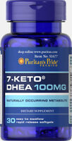 Puritan's Pride 7-Keto DHEA 100 mg - 30 Softgels