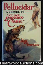 Pellucidar by Edgar Rice Burroughs First, Fax DJ, J. Allen St. John Art