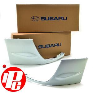 Genuine Front Bumper Winglets Fits: Subaru Impreza STi 03-05 Pure White 51E