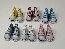 "HiTop Doll Tennis Shoe Sneaker 4 10"" Ann Estelle 14"" Betsy McCall Bitty Bethany"