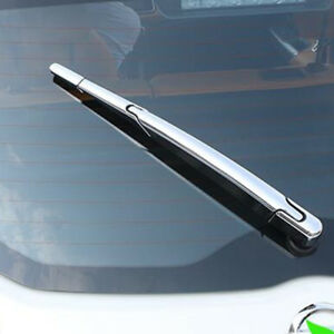 For Nissan Kicks 2016-2018 Chrome Rear Tail Window Windscreen Wiper Cover Trim