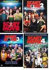 SCARY MOVIE QUADRILOGY 1 - 4 DVD Box Set Part 1 2 3 4 Movie Film Brand New UK