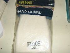 NEW VINTAGE BIKE #14 HAND GUARDS WHITE   BRAND NEW IN PACKAGE LARGE